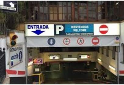Garaje en calle de Jacinto Benavente