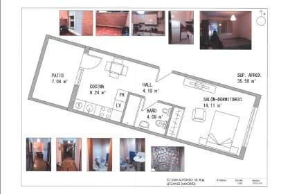 Apartamento en calle de San Alfonso