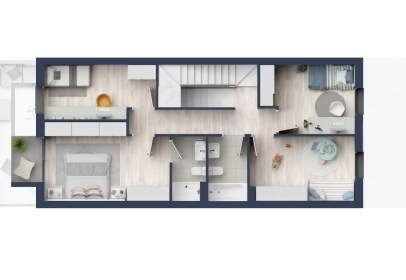 Casa adosada en calle Marta Mata,  S/N