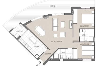 Apartamento en calle de la Nueva Andalucía
