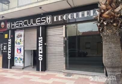 Local comercial a Avinguda Ancha de Casatelar, prop de Calle Agost