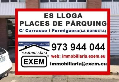 Garaje en calle Carrasco I Formiguera