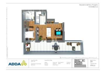 Penthouse in Avinguda Diagonal, 2