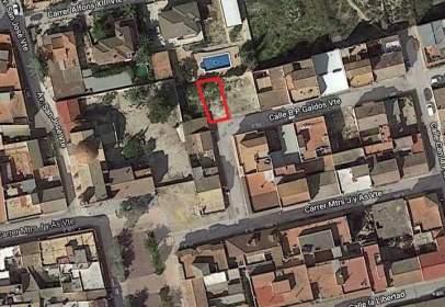 Terreno en calle de Benito Pérez Galdós