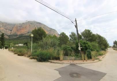 Terreno en Montgo Ermita
