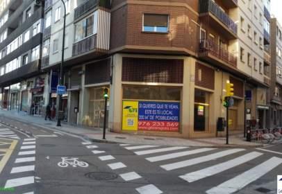 Local comercial a calle Paseo Maria Agustin