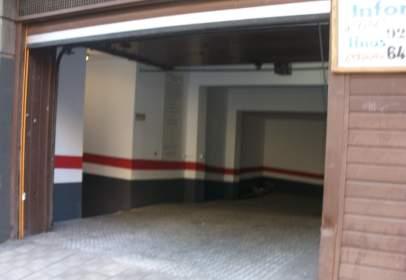 Garaje en calle Miraflores