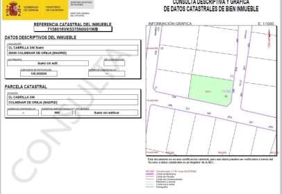 Land in calle Cabrillas